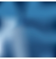 Magic blurred abstract background in blue colors vector image