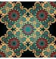 Seamless paisley Mandala abstract pattern Tiled vector image vector image