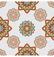 seamless pattern with various Oriental motifs vector image