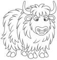 yak vector image vector image