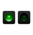 Green Traffic Lights vector image