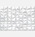 abstract soft gray polygon pattern background vector image