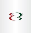 letter z logo logotype element sign vector image