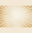 retro style sunburst and rays comic cartoon vector image