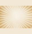 retro style sunburst and rays comic cartoon vector image vector image
