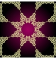 Seamless psychedelic paisley background vector image vector image