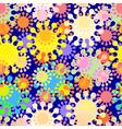 seamless splat pattern vector image vector image