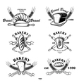 Bakery Emblem vector image vector image