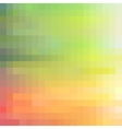 Colorful modern mosaic background vector image vector image