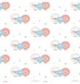 Family of sheep Pattern vector image vector image