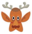 Mask deer vector image vector image