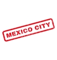 Mexico City Rubber Stamp vector image vector image