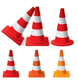 Safety Traffic Cones vector image