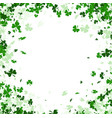 st patricks day square background vector image vector image