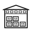 Storage Unit vector image
