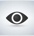 eye icon flat design style vector image