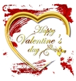 Abstract background for Valentines Day vector image vector image