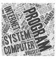 adware spyware uninstall Word Cloud Concept vector image vector image