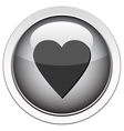 heart follow icon vector image
