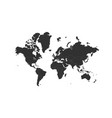 world map isolated on white background can be vector image vector image