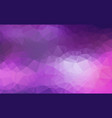 abstract polygon purple background of modern vector image vector image