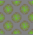 ball print seamless pattern with green grunge vector image vector image