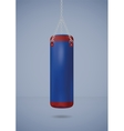 Big punching bag vector image vector image