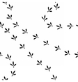 birdprints vector image vector image