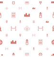club icons pattern seamless white background vector image vector image