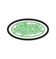 Gnocchi vector image vector image