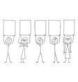 group team or crowd people or businessmen vector image