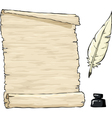 Parchment vector image vector image