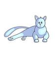 persian cat icon vector image vector image