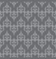 seamless abstract vintage dark gray pattern vector image vector image