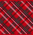 seamless tartan plaid pattern fabric pattern vector image vector image