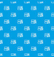 two books pattern seamless blue vector image vector image