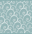 white lace seamless pattern with pearls vector image vector image