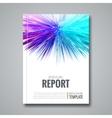 Business template for brochure flyer report or vector image