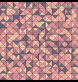 abstract seamless pattern with triangles vector image
