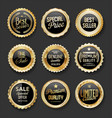 Black and gold badges super sale collection 04