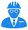 Blind Engineer Grainy Texture Icon vector image vector image