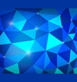 butter great blue of ice polygon with light vector image