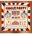 Circus sat vector image vector image