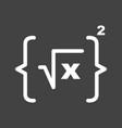 formula i vector image vector image