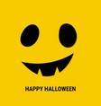 halloween scary mask vector image