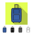 isolated object of suitcase and baggage sign vector image