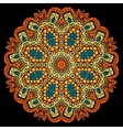 Mandala ornate pattern Vintage indian ornament on vector image