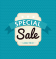Sale badge vector image