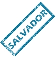 Salvador rubber stamp vector image vector image