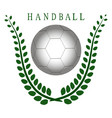 the theme handball vector image vector image
